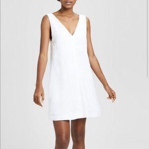 Theory Integrate Linen Shift Dress